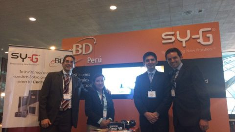 "Sy-G and e-BD Peru sponsored the DataCenter Converged in Lima ""Meeting with technology and innovation""."